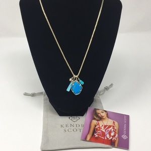 Kendra Scott Hailey Gold Necklace NWT